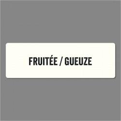 BALISAGE BIERE - FRUITÉE GEUZE