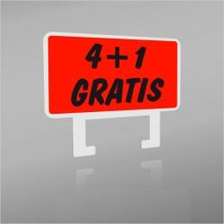 CLIP 'PROMO' -  4 + 1 GRATIS