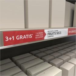 RAILSTRIP-FRUITS SECS 3+1