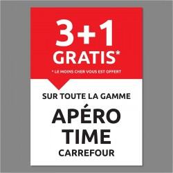 AFFICHE APERO TIME 3+1 -...
