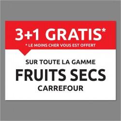 AFFICHE FRUITS SECS 3+1 -...