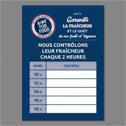 PANNEAU CONTROLE FRAICHEUR